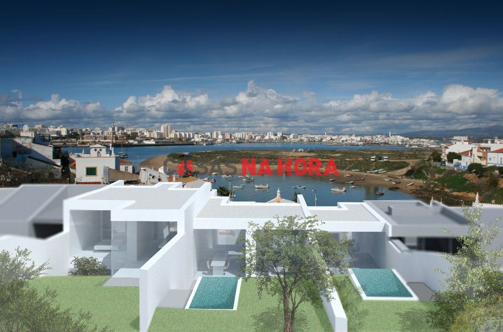 casacerta.pt - Moradia geminada T2 -  - Ferragudo - Lagoa (Algarve)