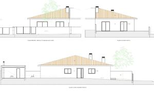 Semi-detached house T3, para Sale
